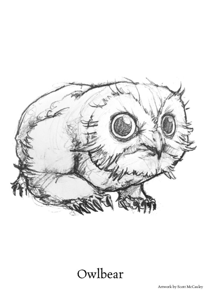 Znalezione obrazy dla zapytania owlbear kings of the wyld